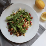 Kichererbsen-Rucola-Salat aus Speed Cooking